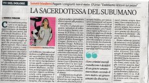 Il Fatto Quotidiano domenica 25 ottobre 2015